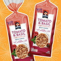 Quaker Tomato & Basil Rice Cakes