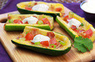 Low-Carb Snacks with 150 Calories or Less: Cheesy Zucchini Skins