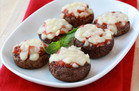 Low-Carb Snacks with 150 Calories or Less: Pizza-Stuffed Mushrooms