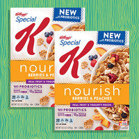 Special K Nourish Berries & Peaches with Probiotics Cereal