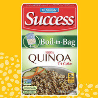 Success 10 Minute Boil-in-Bag Tri-Color Quinoa