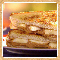Healthy HG Peanut Butter Recipe: Hungry Grilled Graceland Special