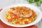 Veggie-Based Carb Swap: Arroz Con Pollo, Por Favor
