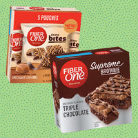 Fiber One Supreme Brownies & Brownie Bites