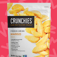 Crunchies Freeze-Dried Snacks in Mango