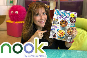 Hungry Girl Magazine Is Now Available on NOOK