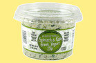 Reduced Guilt Spinach & Kale Greek Yogurt Dip