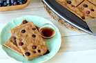Blueberry Pancake Breakfast Bars