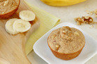 Banana Walnut Blender Muffins