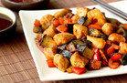Chicken & Eggplant Teriyaki Stir-Fry