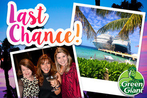 All Aboard! Last Chance to Book the Hungry Girl Cruise!