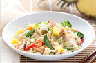 Hawaiian Chicken Cauliflower Fried Rice
