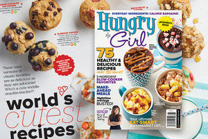 Hungry Girl Magazine: World's Cutest Recipes!