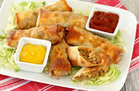 Healthy Cheeseburger Egg Rolls Recipe