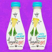 Organicgirl Fresh Designer Dressing in White Cheddar Ranch Style Vinaigrette