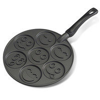 Mother's Day Gifts: For Silly Moms: Nordic Ware Smiley Face Pancake Pan