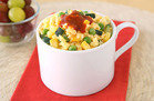 10-Minute Breakfast: Spring Sriracha Egg Mug
