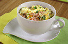 10-Minute Breakfast: Denver Omelette in a Mug