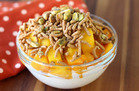 10-Minute Breakfast: Peach Mango Bowl