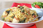 Beauty Food: Creamy Kale Spaghetti Squash Recipe