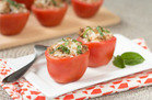 Beauty Food:Chicken Bruschetta Stuffed Tomatoes Recipe