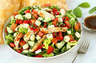 Beauty Food: Margherita Grilled Chicken Salad Recipe