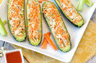 Healthy Buffalo Chicken Zucchini Recipe