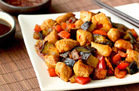 Hungry Girl's Healthy Chicken & Eggplant Teriyaki Stir-Fry