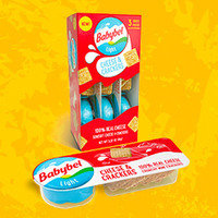 Mini Babybel Light Cheese & Crackers