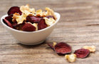 Healthy Make-Ahead Snack Recipe: Beet & Parsnip Chips