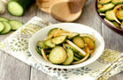 Healthy Make-Ahead Snack Recipe: Mmmmm Marinated Cucumber Salad