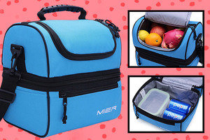 Amazon Find of the Day: MIER Double Deck Cooler Insulated Lunch Bag
