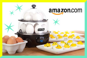 Lisa's Amazon Find of the Day: Dash Deluxe Rapid Egg Cooker