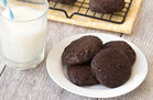 Hungry Girl's Healthy Fudgy Chocolate Cookies Recipe
