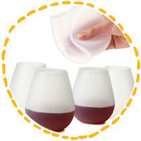 Hungry Girl's Summer Party Finds: Silicone Wine Glasses