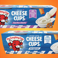 The Laughing Cow Creamy Cheese Cups
