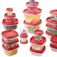 Hungry Girl Amazon Kitchen Finds: Rubbermaid 42-Piece Container Set