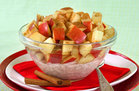 Hungry Girl's Healthy Double-O-Cinnamon Apple Breakfast Bowl Recipe