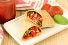 Hungry Girl's Healthy Pepperoni Pizza Wrap Recipe