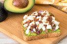 Hungry Girl's Healthy Egg 'n Bacon Avocado Toast Recipe