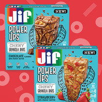 Jif Power Ups Creamy Clusters and Chewy Granola Bars