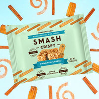 Smashcrispy Marshmallow Rice Treats