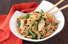 Hungry Girl's Healthy Zucchini So Low Mein with Chicken Recipe