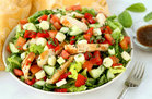 Hungry Girl's Healthy Margherita Grilled Chicken Salad Recipe