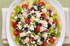 Hungry Girl's Healthy Greek Salad Tostada Recipe