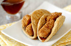 Hungry Girl's Healthy Chicken'n Waffle Tacos Recipe