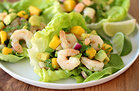 Hungry Girl's Healthy Shrimp & Avocado Lettuce Tacos Recipe
