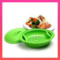 Go-To Kitchen Gadgets: Microwave Steamer Norpro Silicone Steamer