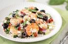 Hungry Girl's Healthy Mediterranean Shrimp 'n Veggies Recipe
