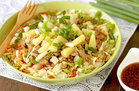 Hungry Girl's Healthy Teriyaki Burger Bowl Recipe